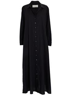 Xírena Boden Cotton Midi Shirt Dress