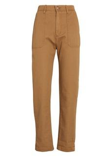 Xírena Tucket Cotton Twill Straight-Leg Pants