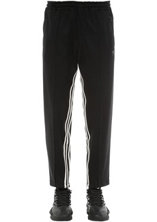 Y-3 3 Stripe Cropped Techno Track Pants