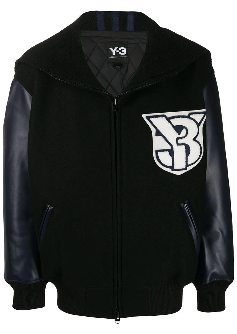 Y-3 appliqué detail jacket