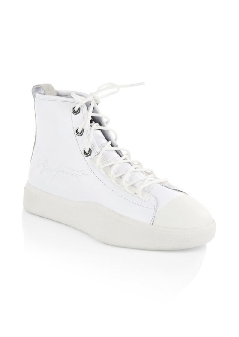 abe39f4193694 Y-3 Bashyo II High-Top Sneakers