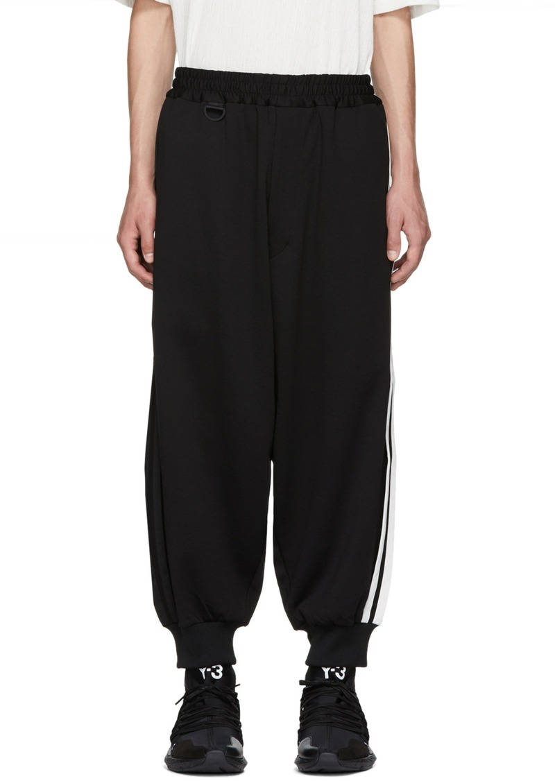 8f493b29b Y-3 Black 3-Stripe Track Pants