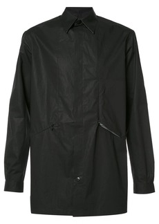 Y-3 button up shirt jacket