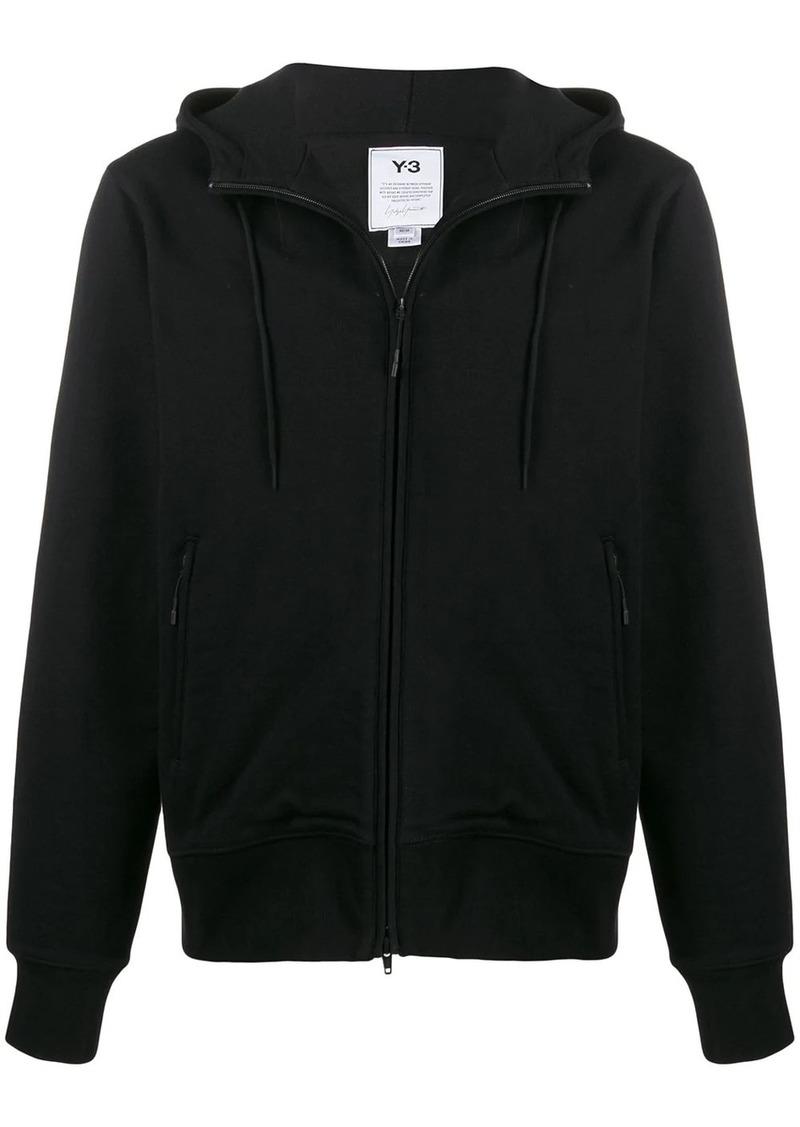 Y-3 CL zip-up cotton hoodie