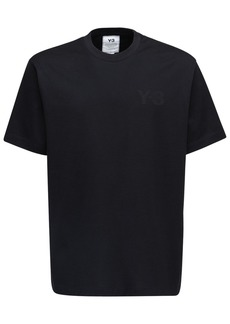 Y-3 Classic Logo Cotton Jersey T-shirt