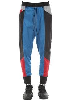 Y-3 Color Block Nylon Track Pants