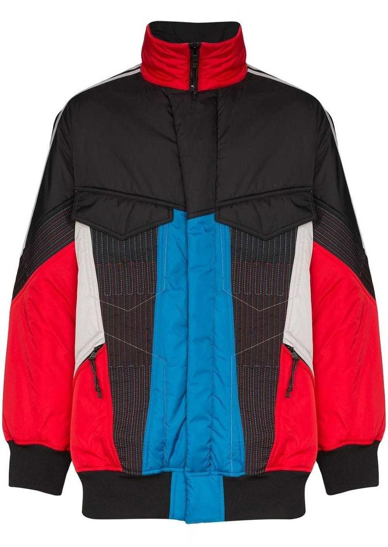 Y-3 colourblock padded shell jacket