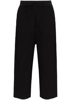 Y-3 cropped jogging bottoms