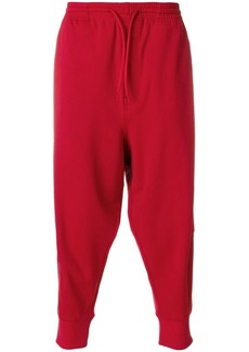 Y-3 cropped tracksuit bottoms