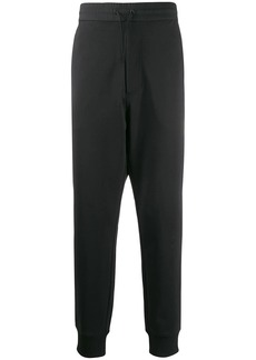 Y-3 fitted tapered leg trousers