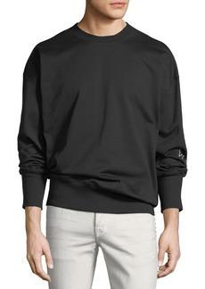 Y-3 Graphic Logo French Terry Sweatshirt