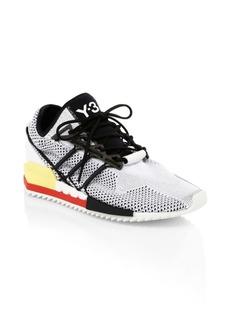 Y-3 Harigane Mix Media Knit Sneakers