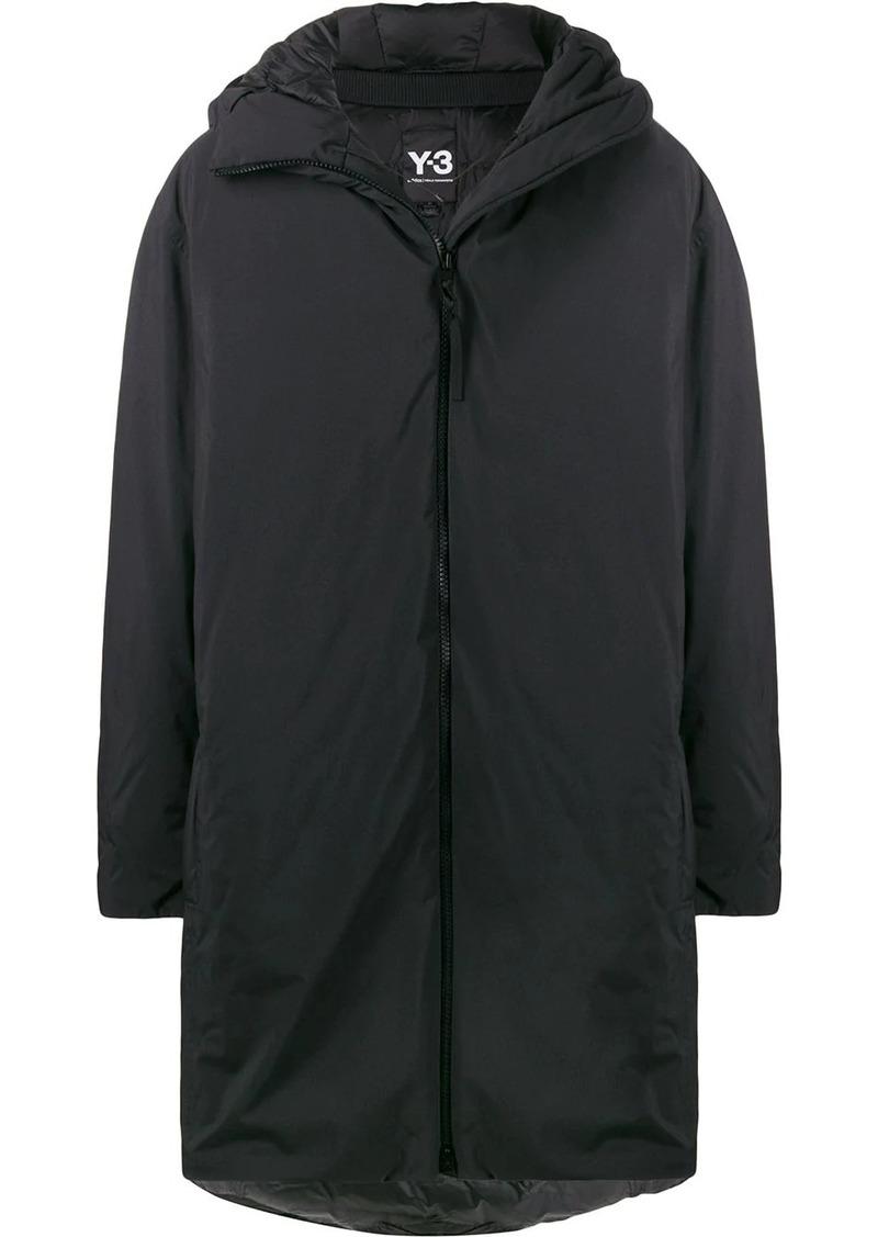Y-3 hooded padded coat
