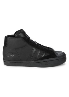 Y-3 Leather Sneakers
