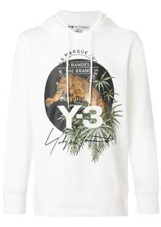 Y-3 leopard hoodie
