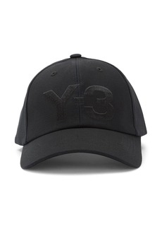 Y-3 logo-embroidered baseball cap
