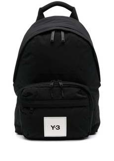 Y-3 logo-patch backpack