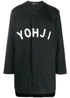 Y-3 logo patch shirt