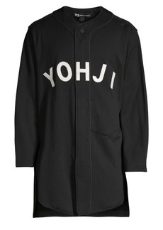 Y-3 Long Baseball Top