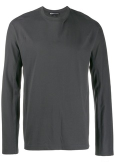 Y-3 long-sleeved logo T-shirt