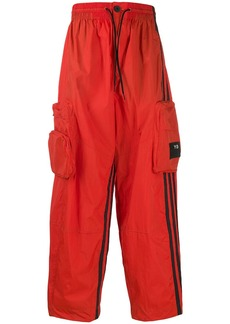 Y-3 loose-fit track trousers