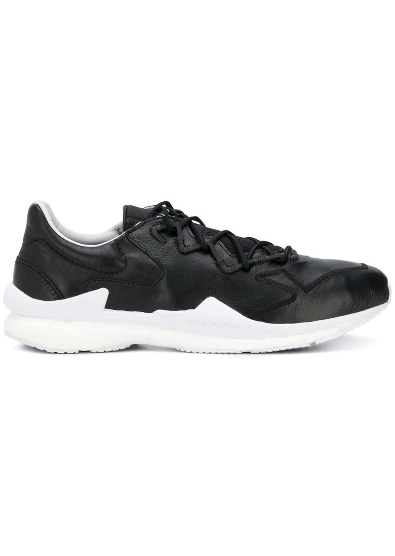 Y-3 matte finish sneakers