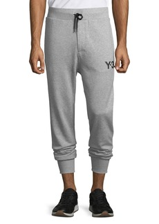 Y-3 Men's Classic-Cuff French Terry Track Pants