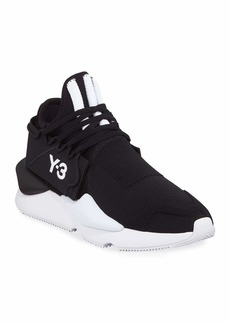 Y-3 Men's Kaiwa Knit Trainer Sneakers