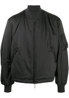 Y-3 padded logo bomber jacket