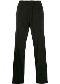 Y-3 plain straight-leg trousers