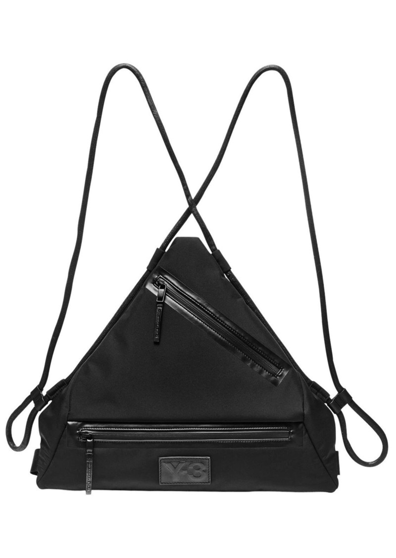 27c42b0a1913 Y-3 Qasa Triangle Nylon Backpack