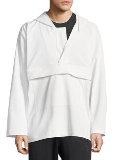 Y-3 Quarter-Zip Hooded Track Jacket
