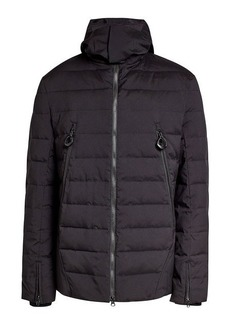 Y-3 Quilted Down Jacket with Hood