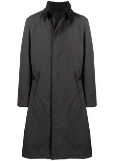 Y-3 quilted long coat