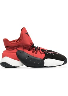 Y-3 Byw Ball red and Black Boost sneaker