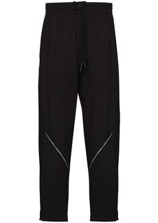 Y-3 reflective logo drawstring track pants