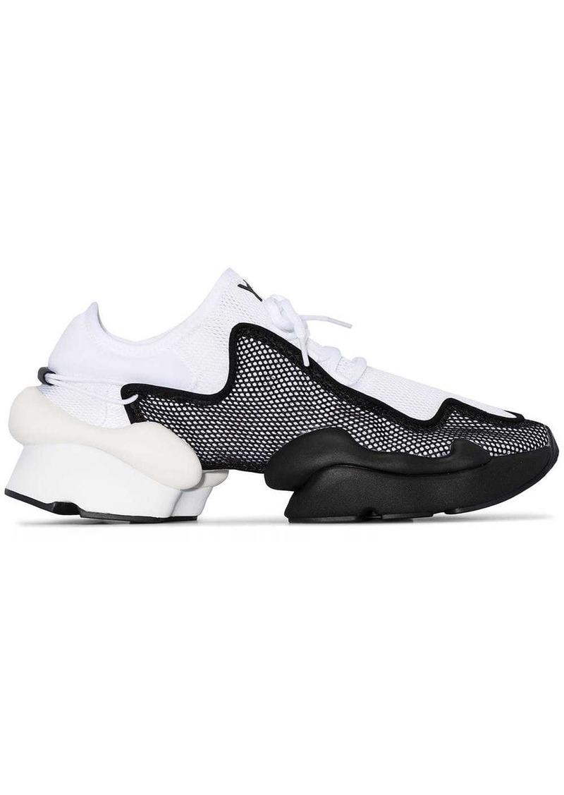 Y-3 Ren mesh-layer sneakers