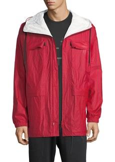 Y-3 Reversible Hooded Zip-Front Jacket