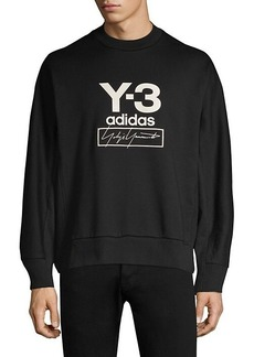 Y-3 Stacked Logo Pullover