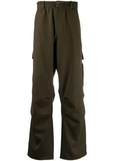 Y-3 straight-leg cargo trousers