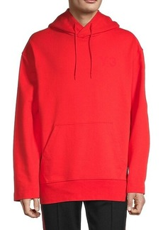 Y-3 Stretch-Cotton Crossover Hoodie