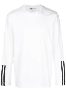 Y-3 striped detail sweatshirt