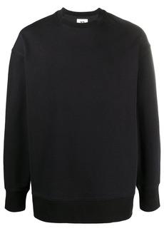 Y-3 tri-stripe logo-patch sweatshirt