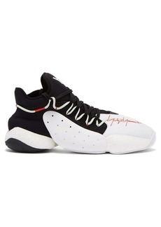 Y-3 BYW Basketball neoprene and leather trainers