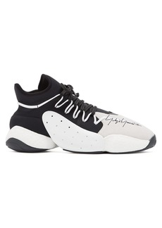 Y-3 BYW BBall mid-top trainers