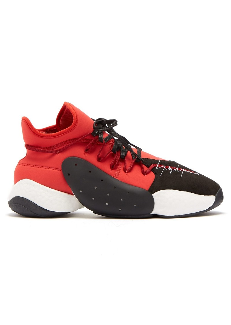 3dceed74a14 Y-3 Y-3 BYW BBall mid-top trainers Now  180.00