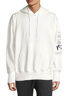 Y-3 Cotton Graphic Hoodie