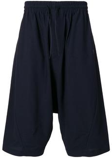 Y-3 drop-crotch casual shorts