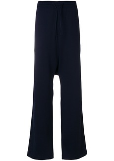Y-3 drop-crotch tracksuit trousers