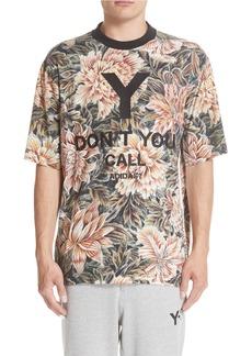 Y-3 Floral Print T-Shirt